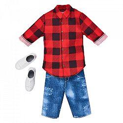 Barbie Ken ruhák - Kockás ing (kép 1)