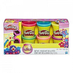 Play-Doh Csillámló gyurmakészlet kiszúróval (kép 1)