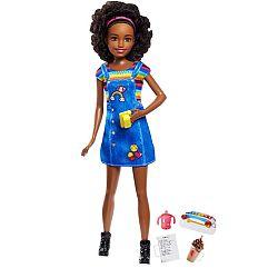 Barbie Skipper bébiszitter baba - Afroamerikai lány (kép 1)