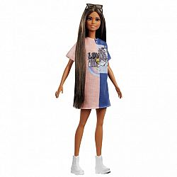 Barbie fashionista barátnők - latin hosszú barna hajú (kép 1)