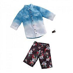 Barbie Ken ruhák - Kék-fehér ing (kép 1)