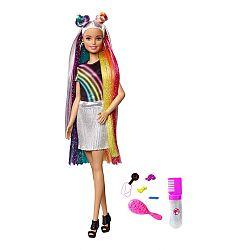 Barbie szivárványhaj baba (kép 1)