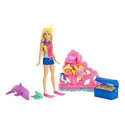 Barbie: Delfin varázs - játékszett (kép 1)