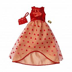 Barbie ruhák - szivecskés alkalmi ruha (kép 1)
