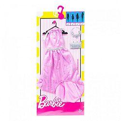 Barbie ruhák - Csillagos rózsaszín parti ruha (kép 1)