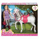Barbie baba és lovacskája szett (kép 4)