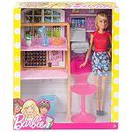 Barbie szoba babával - iroda (kép 3)