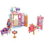 Barbie Dreamtopia szétnyitható kastély babával (kép 2)