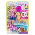 Barbie újszülött kutyusok babával (kép 4)