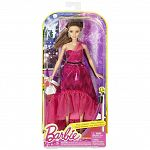 Barbie fashionista baba estélyi ruhában - barna (kép 2)