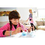 Barbie karrier játékszett - Korcsolya edző (kép 3)