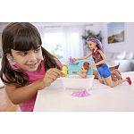 Barbie Skipper bébiszitter játékszett - Skipper fürdőkáddal (kép 4)