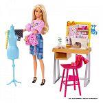 Barbie karrier kiegészítő szett - varrónő (kép 2)