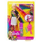 Barbie szivárványhaj baba (kép 6)