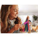 Barbie szivárványhaj baba (kép 4)