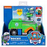 Mancs őrjárat járművek - Rocky és átalakuló kukásautója (kép 4)