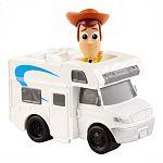 Toy Story 4 minifigurák járművel - Woody (kép 3)
