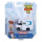 Toy Story 4 minifigurák járművel - Woody (kép 5)