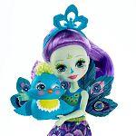 Enchantimals baba állatkával - Patter Peacock és Flap ÚJ (kép 3)
