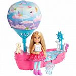 Barbie Dreamtopia Chelsea léghajó ággyal (kép 3)