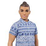 Barbie Fashionista fiú babák - barna hajú farmerben széles (kép 2)