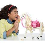 Barbie Dream Horse - Intelligens lovacska babával (kép 3)