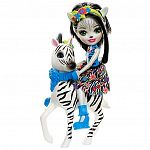 Enchantimals baba nagy állatkával - Zelena Zebra és Hoofette (kép 2)