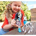 Enchantimals baba nagy állatkával - Zelena Zebra és Hoofette (kép 4)