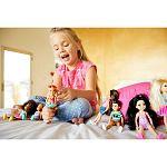 Barbie Chelsea babák - szőke szivecskés fürdőruhában (kép 3)