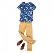 Barbie Ken ruhák - kék póló
