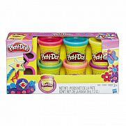 Play-Doh Csillámló gyurmakészlet kiszúróval