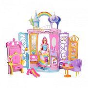 Barbie Dreamtopia szétnyitható kastély babával
