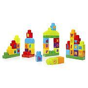 Mega Bloks ABC építőkockák - 40 db