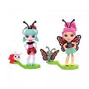 Enchantimals Petal Park bogárbarátok - Ladelia Ladybug és Baxi Butterfly