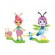 Enchantimals Petal Park bogárbarátok - Saxon Snail és Dara Dragonfly