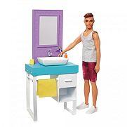Barbie Ken hétköznapjai játékszett - borotválkozós Ken
