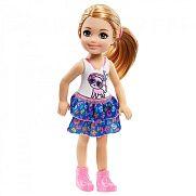 Barbie Chelsea babák - szőke cicás felsőben