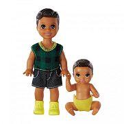 Barbie Skipper bébiszitter kistesók - Barna hajú tesók