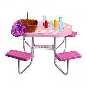 Barbie kerti bútorok - piknik asztal