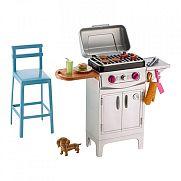 Barbie kerti bútorok kiegészítőkkel - grill