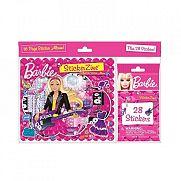 Barbie matricás füzet