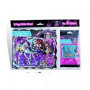 Monster High matricás füzet
