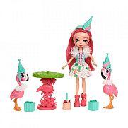 Enchantimals flamingó móka játékszett