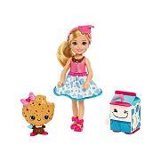 Barbie Dreamtopia Chelsea tejjel és sütivel