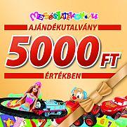 Ajándékutalvány - 5000 Ft értékben