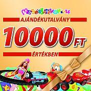Ajándékutalvány - 10000 Ft értékben