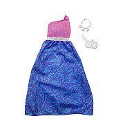 Barbie ruhák - Lila-kék szoknyás parti ruha