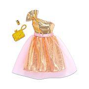 Barbie ruhák - arany parti ruha